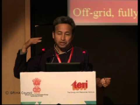 Mr. Sonam Wangchuk at The GRIHA Summit 2016