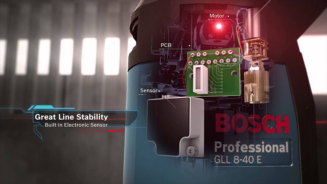 Gll Line Laser 5 40 E Professional 8 Bosch 3 15 Level Mini