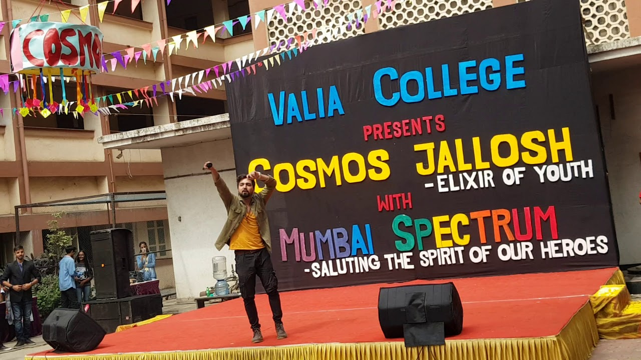 Love The Way You Lie Live Cover Valia College Andheri West Cosmos Jallosh 2018 Youtube