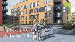 Asuntoesittely: Raitiokuja 4 C ja D, Turun Linnanfältti