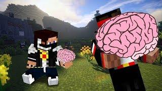 Minecraft [Прохождение Карты] - Самый большой мозг!
