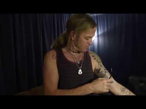 Daisies Tattoos with Doug Aldrich!