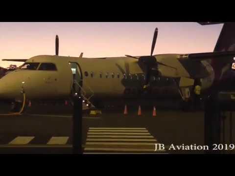 First Qantaslink Departure From Bendigo To Sydney 1/4/19