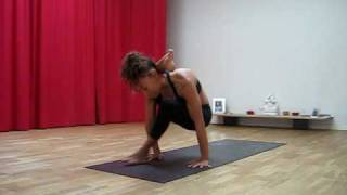 Repeat youtube video Laruga - Ashtanga Yoga - Advanced A - Kaśyapāsana to Dūrvāsāsana
