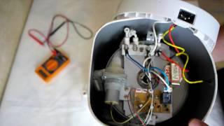 Диагностика термопота IDEAL ID-60TPW + проверка термистора KSD302