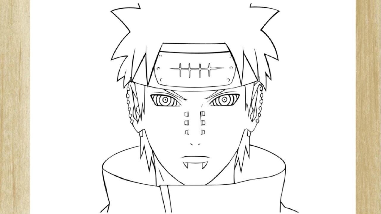 Imagens Para Colorir De Naruto: Imagens De Naruto Vs Pain Para Colorir