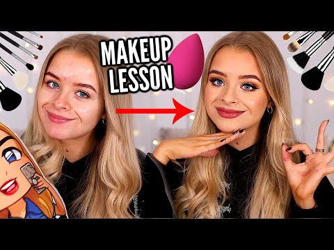 MAKEUP 101: A VERY AVERAGE MAKEUP LESSON WITH..  ME 😂 thumbnail
