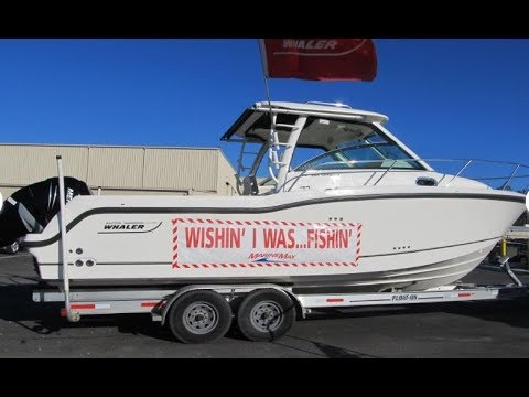 2018 Boston Whaler 285 Conquest at MarineMax Jacksonville Boat for Sale