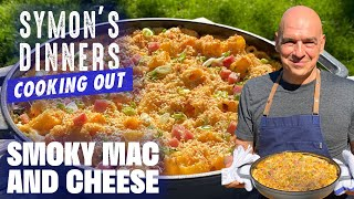 Michael Symon's Smoky Mac and Cheese | Symon's Dinners Cooking Out | Food Network