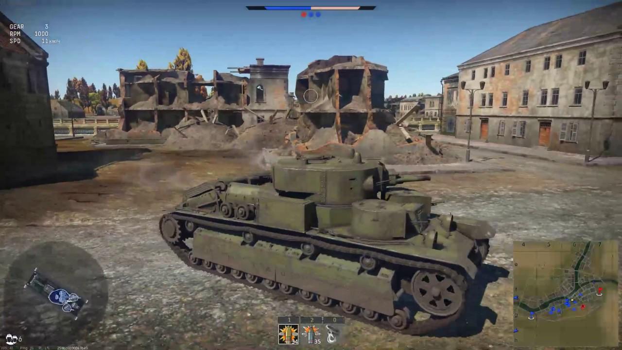 war thunder бой танковый