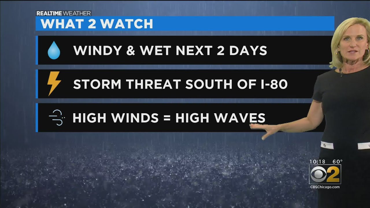 Chicago Weather: Severe Weather Ends; Calm Day Ahead