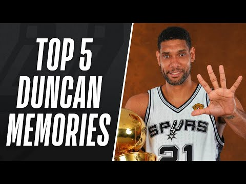 Top 5 Tim Duncan Memories