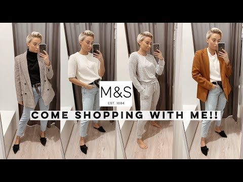 COME SHOPPING WITH ME IN M&S! I FOUND SOME GEMS!!! Olivia Rose Smith