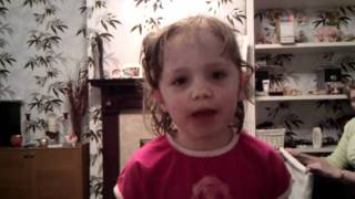 My 5yo sings Manchester United Calypso