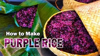 Let's make purple rice!!!