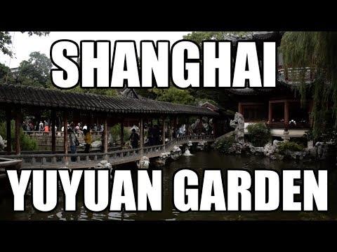 SHANGHAI - VISITING YUYUAN GARDEN & SHANGHAI BUND AT NIGHT [China Au Pair Vlog #38]