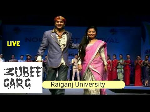 Raiganj University1 || (RAIVASI FEST 2016) Raiganj Uttar Dinajpur | zubin | (Bangali/hindi English)