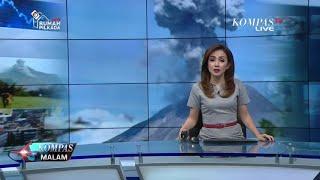 Erupsi Gunung Sinabung Semburkan Abu Vulkanik 3,5 Km