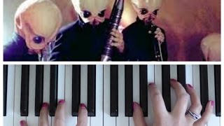 CANTINA BAND Theme from Star Wars | EASY Piano Tutorial
