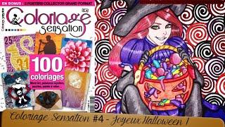 Step by Step : Halloween de Coloriage Sensation #4