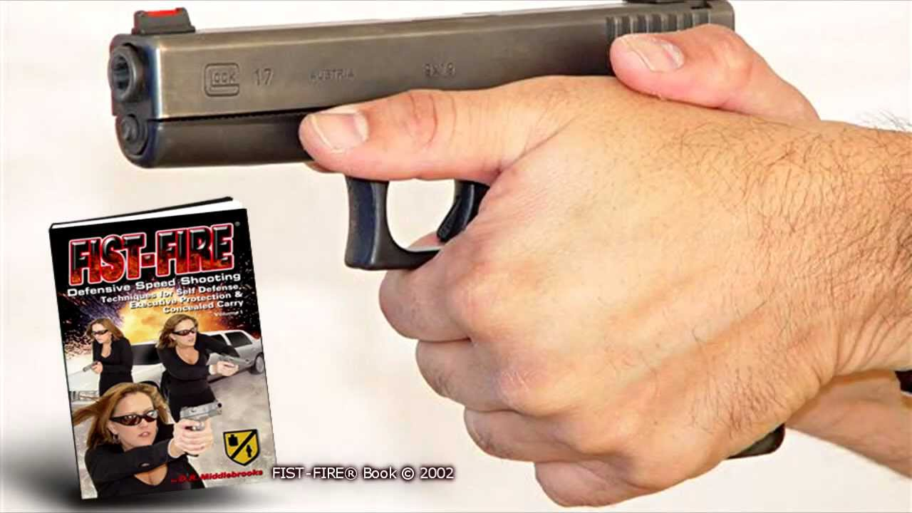 Glock Pistol Shooting: The Ultimate Grip for Maximum Recoil Control.
