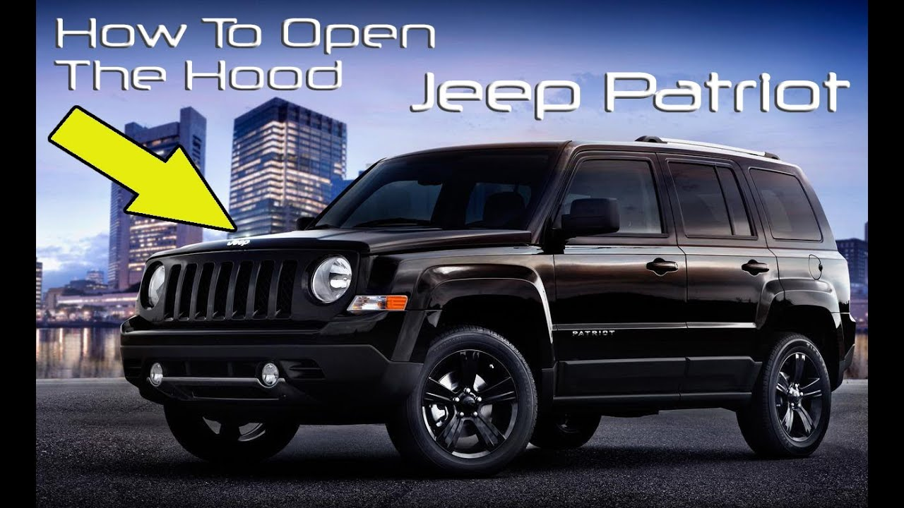 How To Open The Hood Of A Jeep Patriot - YouTube