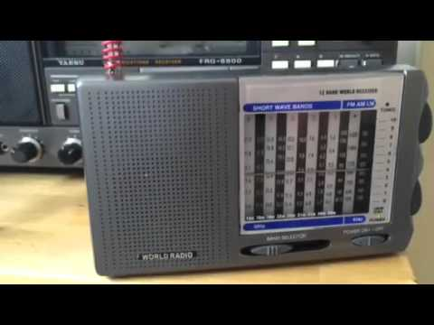 £8 world-band receiver #3 15380 KHz Radio Riyadh Saudi Arabia