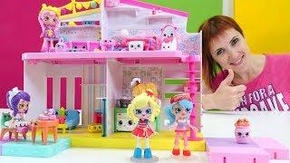 Куклы Shoppies и их кукольный домик Happy Places