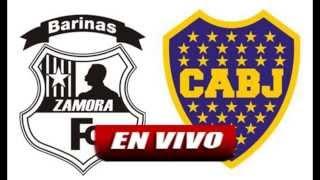 Zamora vs Boca en VIVO y en DIRECTO – Copa Libertadores 2015 Grupo 5