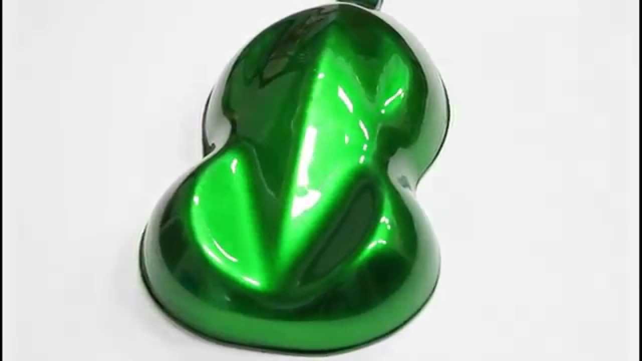 Urekem Paints Emerald Green Over Silver 2k Urethane Candy Series Midcoat Eku Series Youtube
