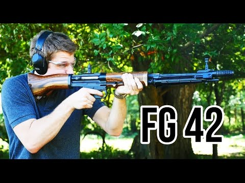 FG42 Rifle Review (Smith Machine Group Copy)