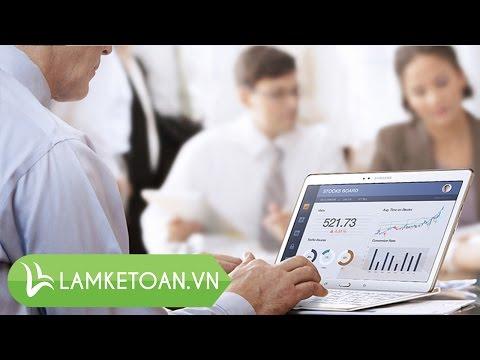 Dạy lập báo cáo lưu chuyển tiền tệ, lập báo cáo tài chính - Lamketoan.vn