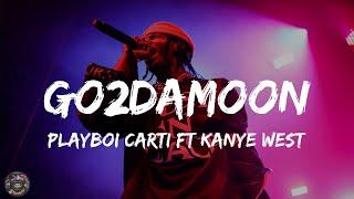 Go2DaMoon - Playboi Carti ft Kanye West (Lyric)   HipHopBops
