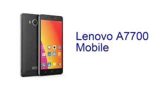 lenovo a7700 mobile specification release sep 2016