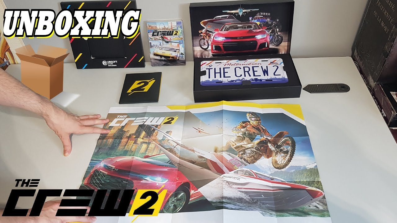 unboxing the crew 2 motor edition collector 39 s edition 4k. Black Bedroom Furniture Sets. Home Design Ideas