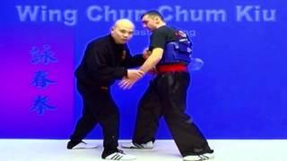 Wing Chun kung fu - wing chun chum kiu training Lesson 18