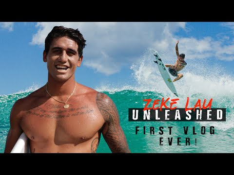 FIRST VLOG EVER | SURFING IN HAWAII & HOW I START MY DAY | ZEKE LAU UNLEASHED EP. 1