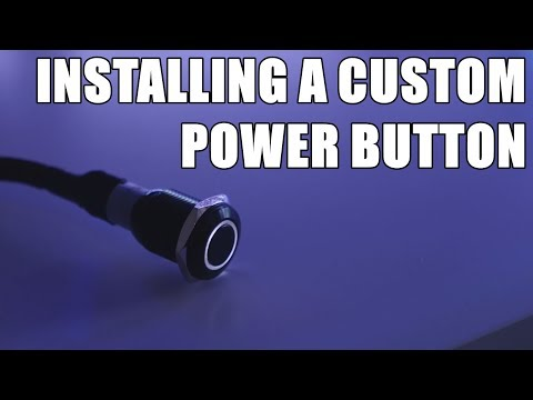 How to Install a Custom PC Power Button