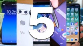 Top 5 Smartphones of 2017!