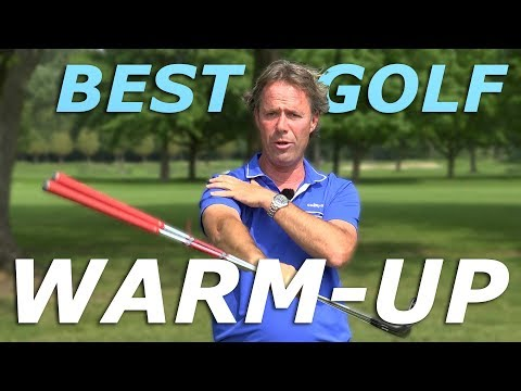 GOLF WARM UP – 3 fast and easy drills to improve your golf swing