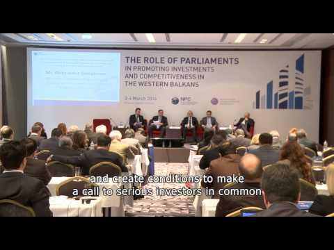 Regional Parliamentary Conference on State Aid, Competition and Foreign Direct Investments - PANEL 1