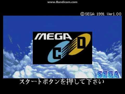 Sega Mega-CD Japanese Startup Screen