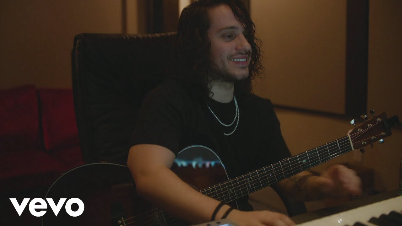 Russ Making The Acoustic Version of Missin You Crazy In Studio