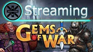 🔥 Gems of War Stream: Infernus Testing and Various Teams 🔥