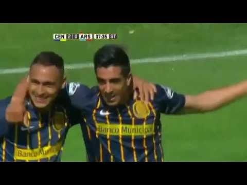 Rosario Central goleó a Arsenal en Arroyito