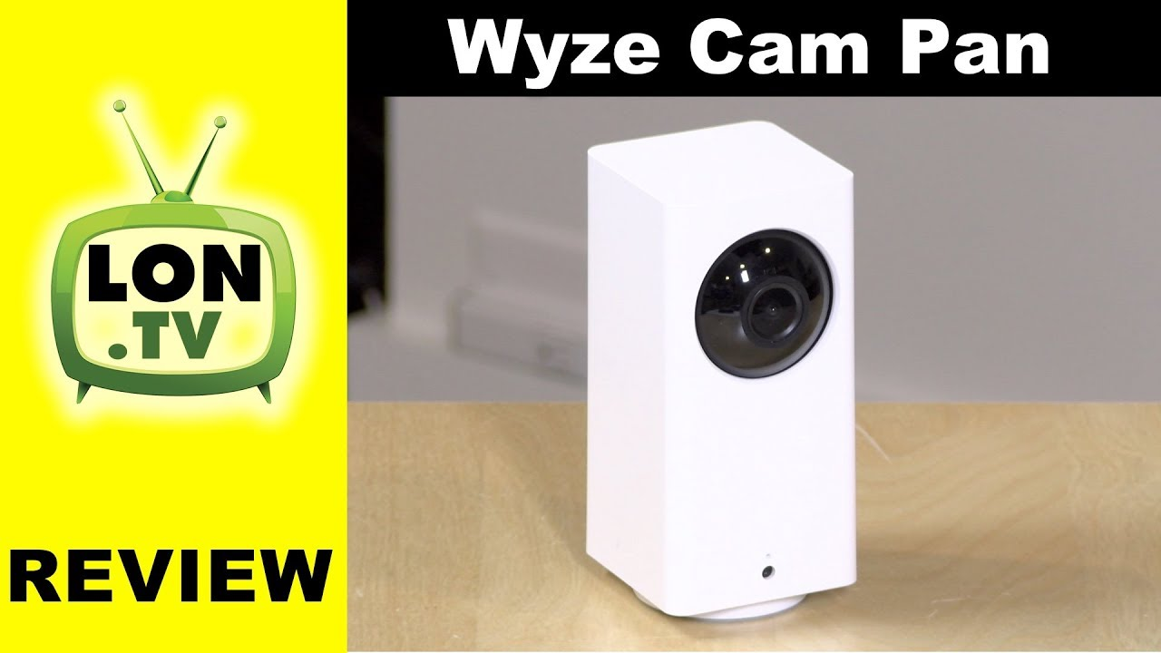 Wyze Cam Pan Review - $30 Pan, Tilt, Zoom (sorta) security camera
