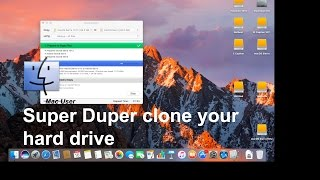 How to Clone a hard drive using Super Duper