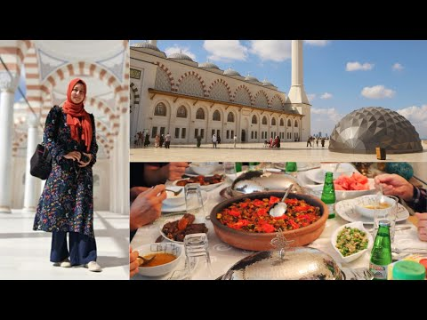 Festive Turkish Dinner With Relatives & Turkey's Largest Mosque Camlıca