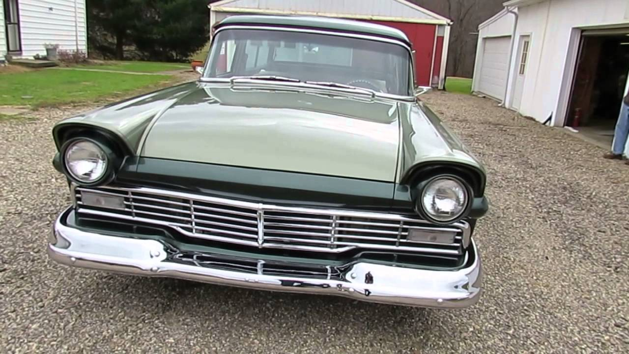 1957 Ford Del Rio Custom Wagon At Bigboyztoyz69 Com Youtube