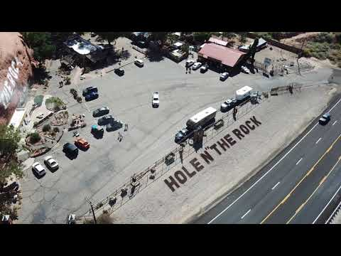 DJI Mavic Pro Drone - Hole N' The Rock, Utah